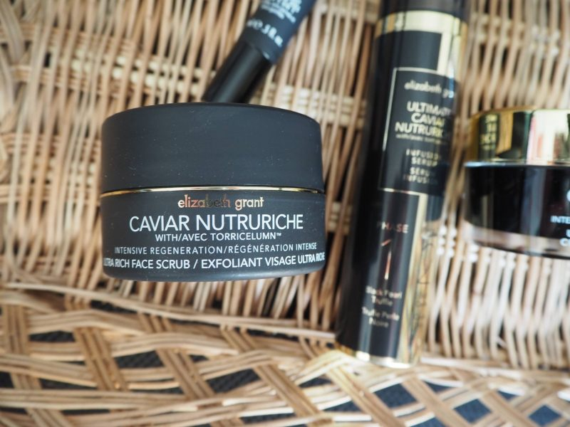 Elizabeth Grant Caviar Nutriche skincare review