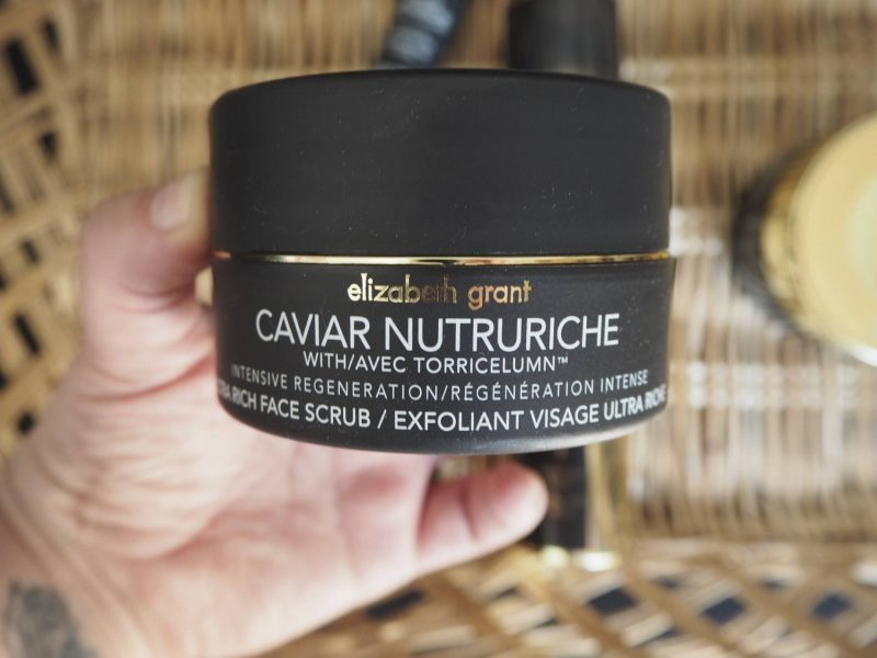 Elizabeth Grant Caviar Nuturiche skincare review