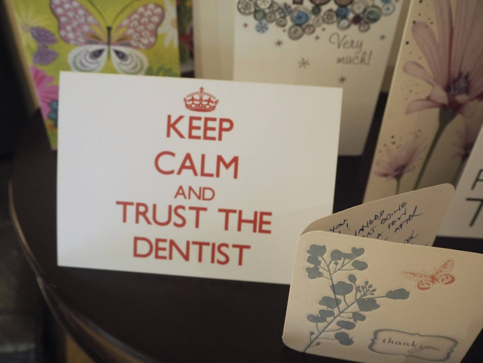 a dentist with a difference: cherrybank dental spa;