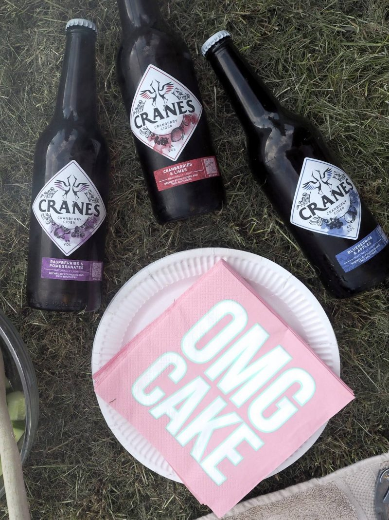 No fuss last minute barbecue tips - Cranes cider - Last Year's Girl