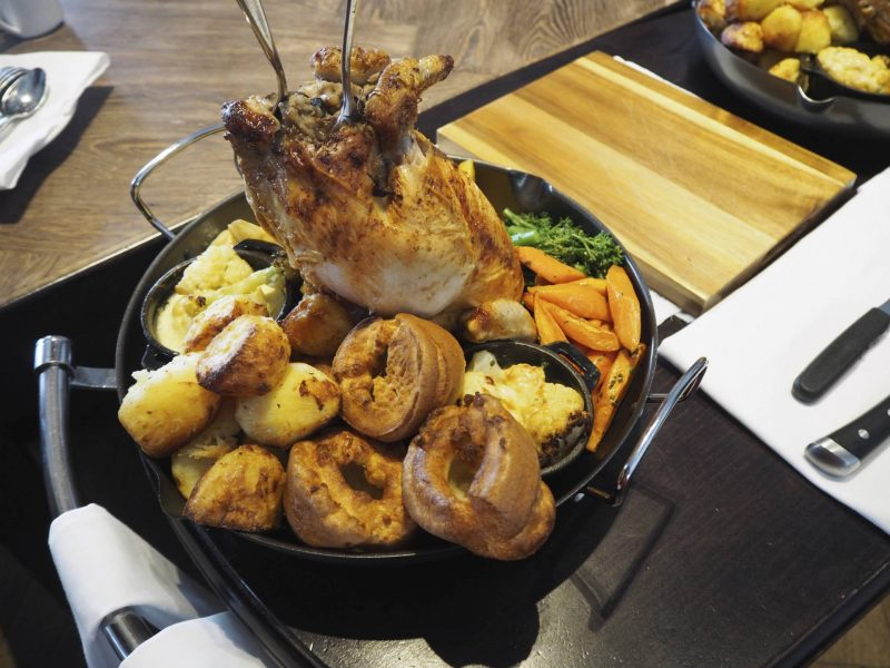 Blythswood Square Hotel Glasgow Sunday roast review