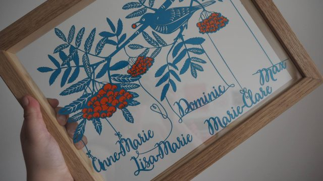 Twenty Fingers personalised papercut review