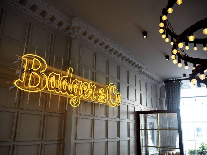 Badger & Co. - Edinburgh restaurant review - interior
