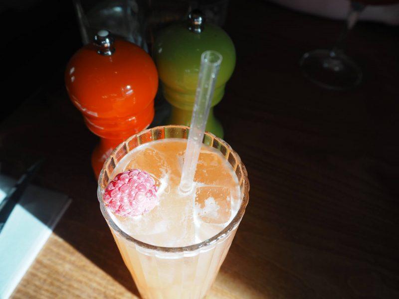 Badger & Co - Edinburgh restaurant review - Lav' Gin El'Do cocktail