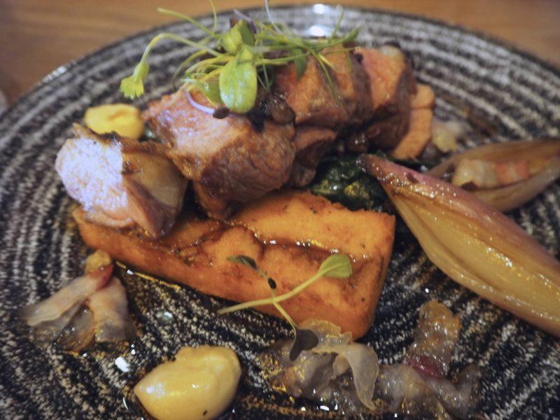 Badger & Co - Edinburgh restaurant review - lamb main course