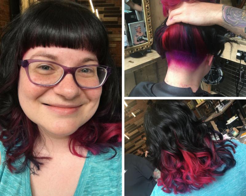 Unicorn hair by Rebel Rebel, May 2017