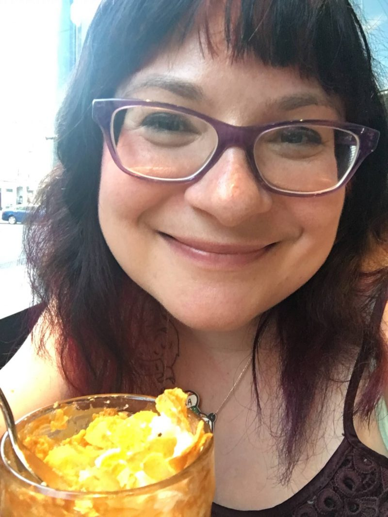 CAU Glasgow restaurant review - #BuenosHeroes campaign - cornflake sundae