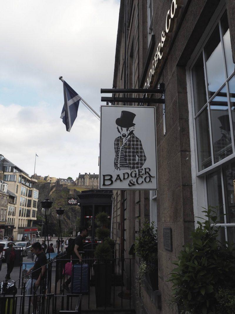 Badger & Co - Edinburgh restaurant review - exterior