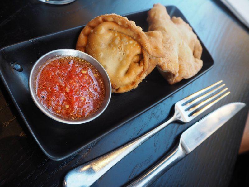 CAU Glasgow restaurant review - #BuenosHeroes campaign - empanadas