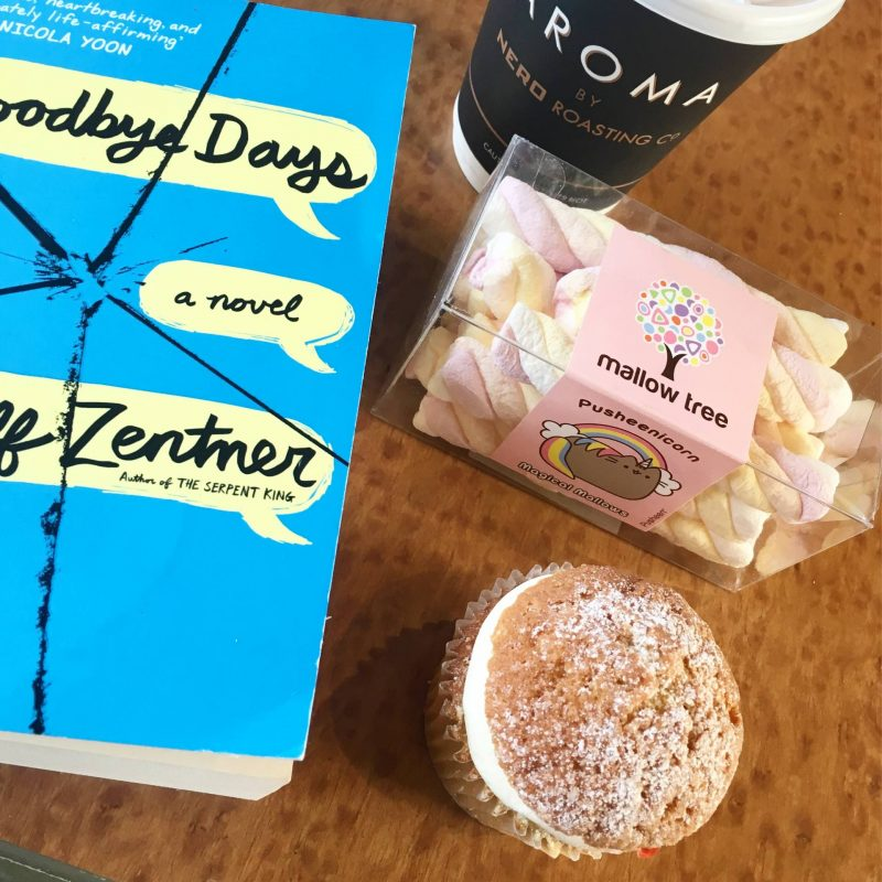 Jeff Zentner - Goodbye Days as train reading