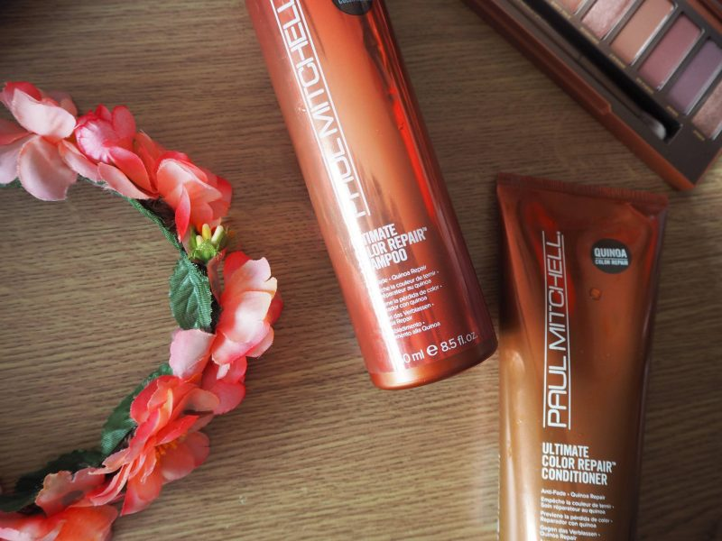 Paul Mitchell Ultimate Colour Repair range beauty review