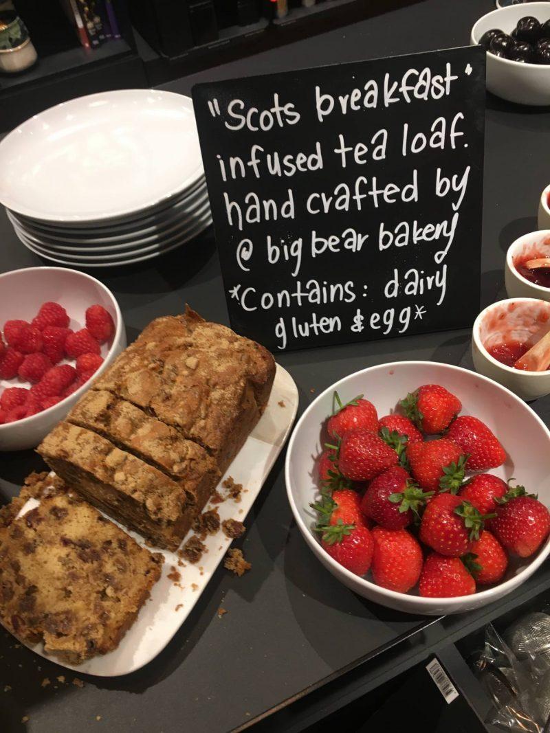 T2 Tea Scots Breakfast tea loaf