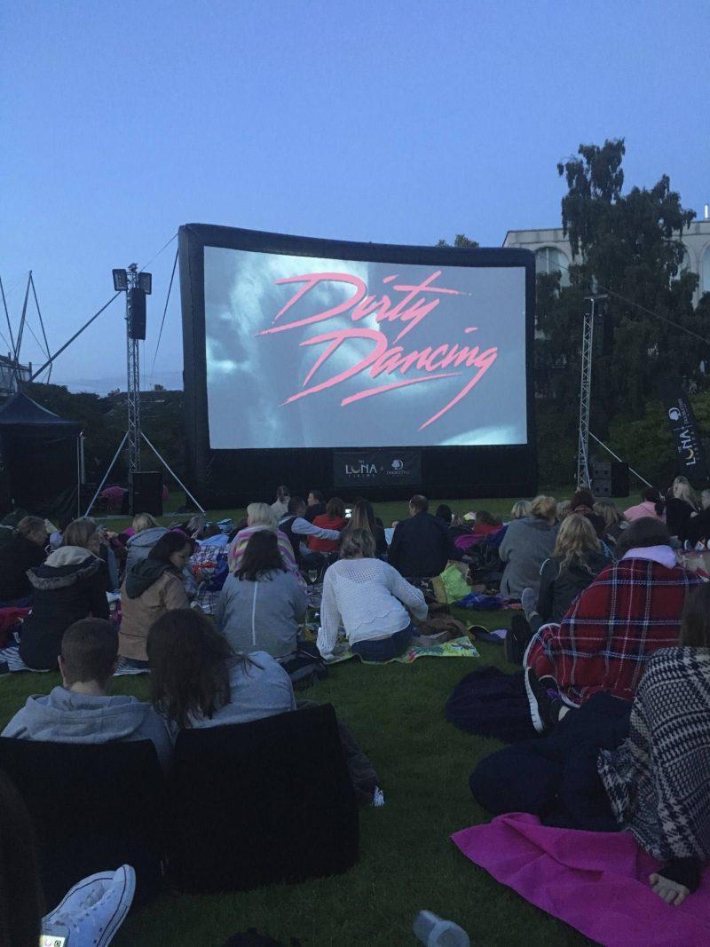 Dirty Dancing open-air screening, Botanic Gardens, Edinburgh September 2017