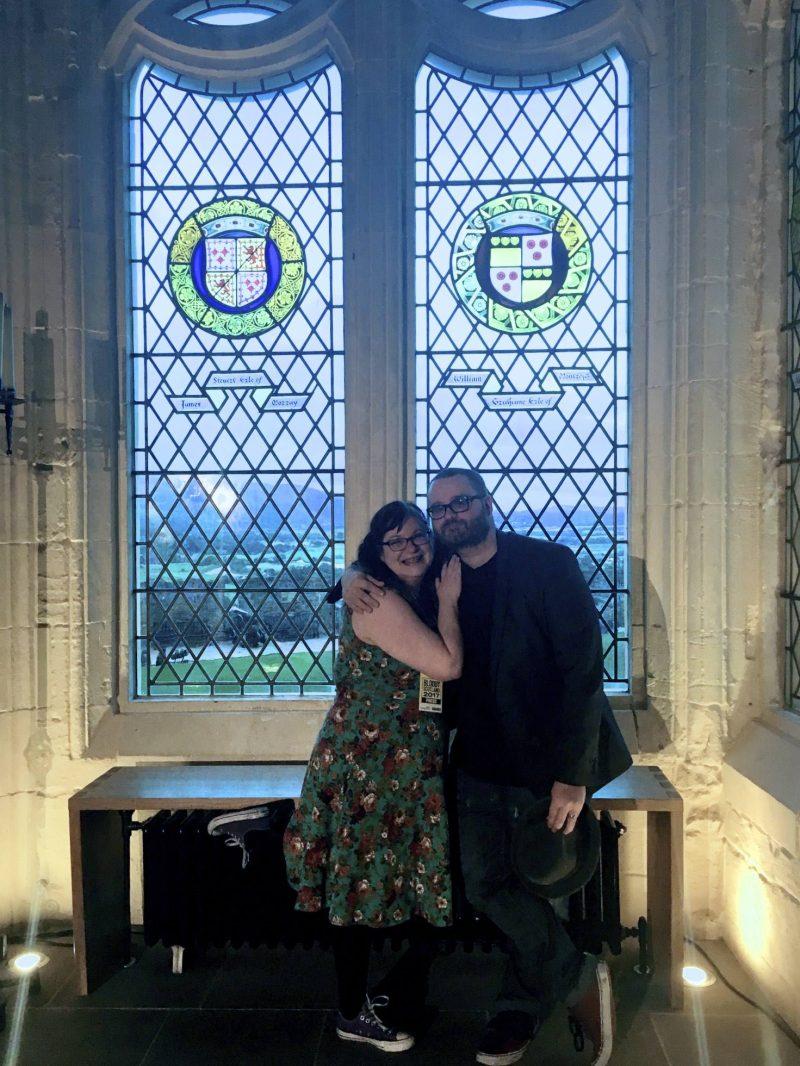 With McIlvanney Prize-shortlisted author Jay Stringer, also top husband, Stirling Castle