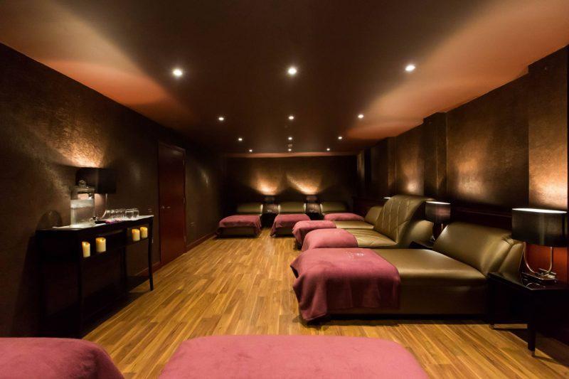 Gleddoch Spa review - Imperia Spa Relaxation Room