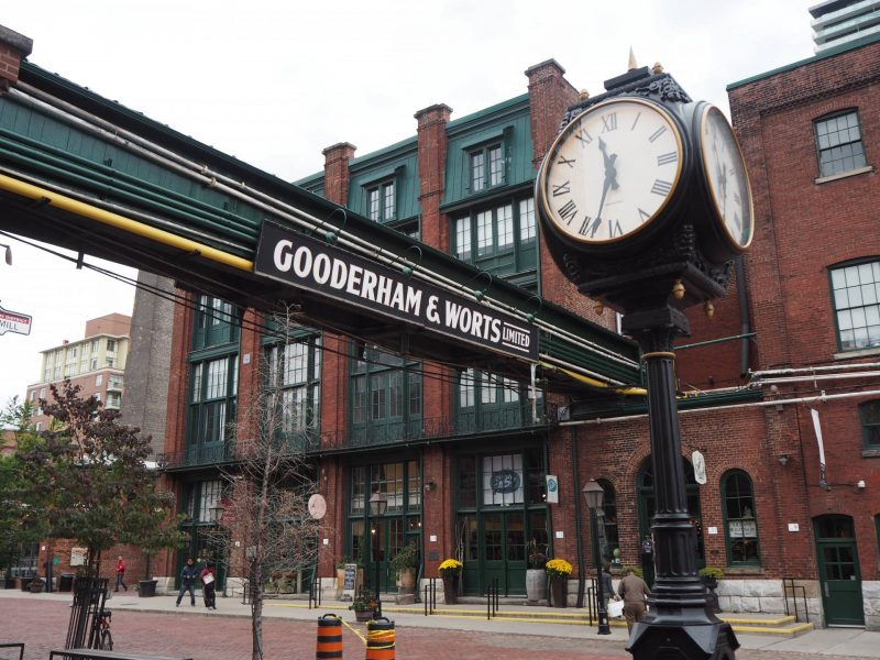 A walking tour of Toronto - The Distillery District