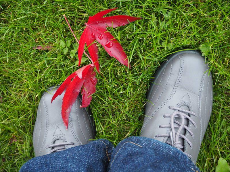A walking tour of Toronto - Hotter Tone GTX shoes