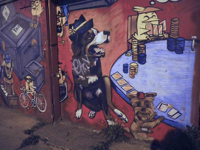 Things to do in Toronto - street art, Augusta Avenue