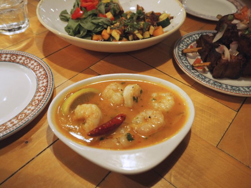 Revolucion de Cuba Glasgow restaurant review - gambas pil pil and tapas