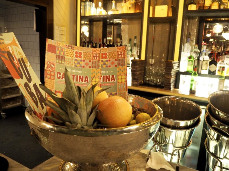 Revolucion de Cuba Glasgow restaurant review - the bar
