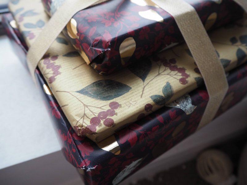 John Lewis Secret Santa - wrapped gifts