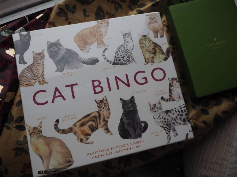 John Lewis Secret Santa - Cat Bingo