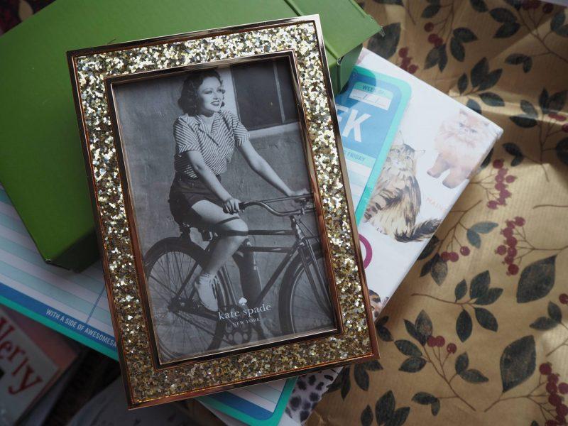 John Lewis Secret Santa - Kate Spade photo frame