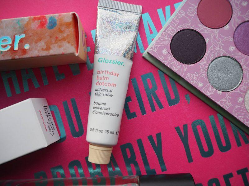 New beauty buys - Glossier Birthday balm dot com