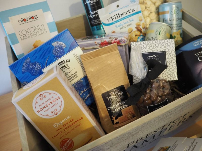 Prestige Hampers Christmas Sky hamper review