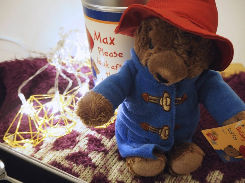 Personalised Christmas gifts from Personally Presented: Paddington Bear