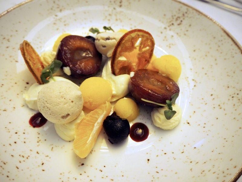 Glasgow restaurant review - Grand Central Hotel at Christmas - Taste of Winter dessert