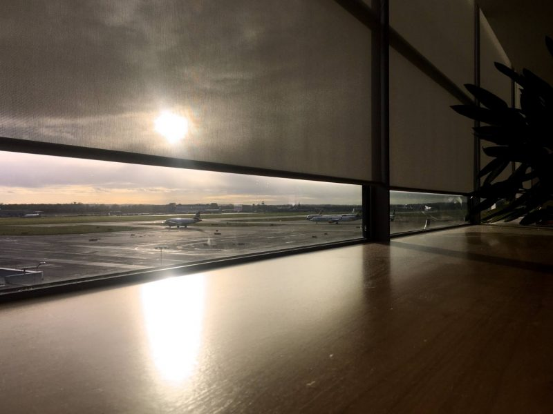 No1 Lounges Gatwick Airport South Terminal review - view over the runway