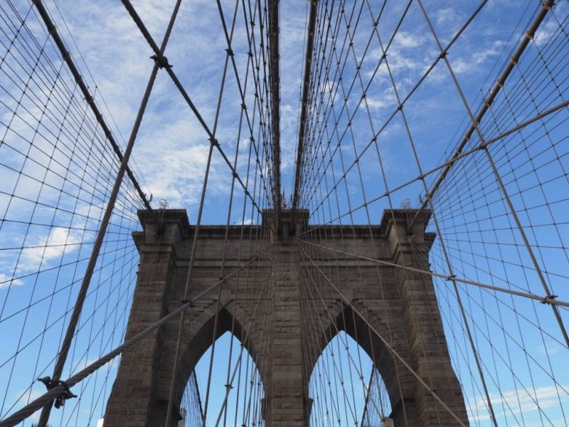 New York travel blog: Brooklyn Bridge