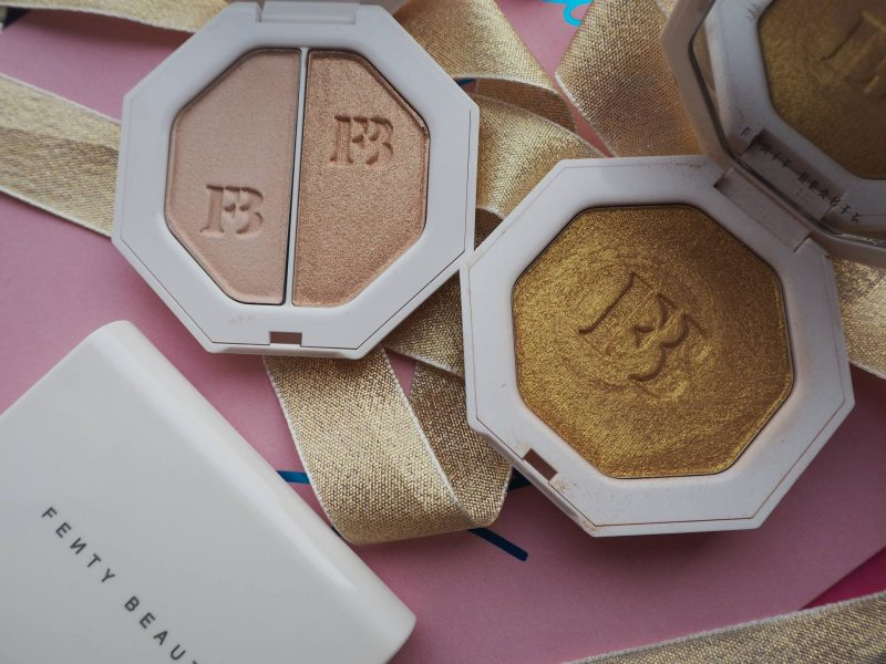 Fenty Beauty office to party makeup products - Kilawatt Freestyle highlighters