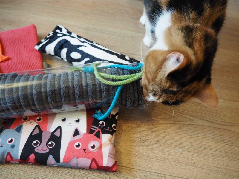 4cats premium valerian cat toys, ft. Scooter-cat