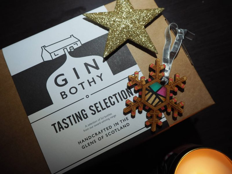 The Gin Bothy tasting selection gift set