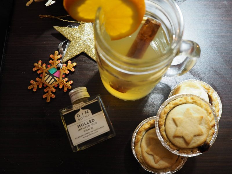 The Gin Bothy - Christmas mulled gin toddy cocktail