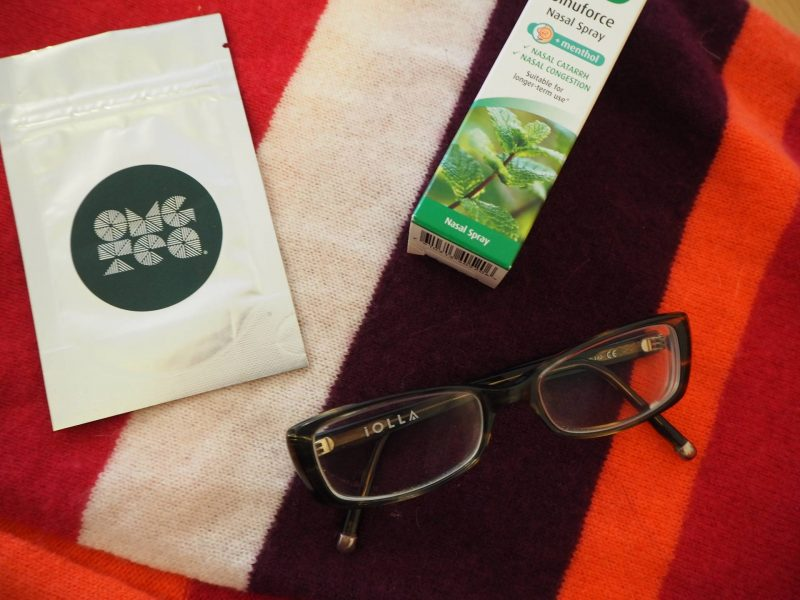 Be your best self: OMG Tea matcha, A Vogel nasal spray