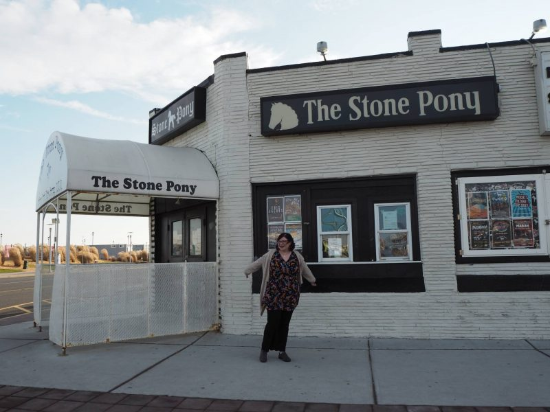 Seasons greetings from asbury park nj last years girl lis at the stone pony asbury park nj december 2017 m4hsunfo