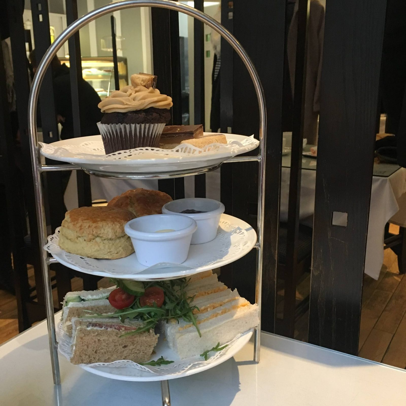 Afternoon tea at The Willow Tea Rooms, January 2018