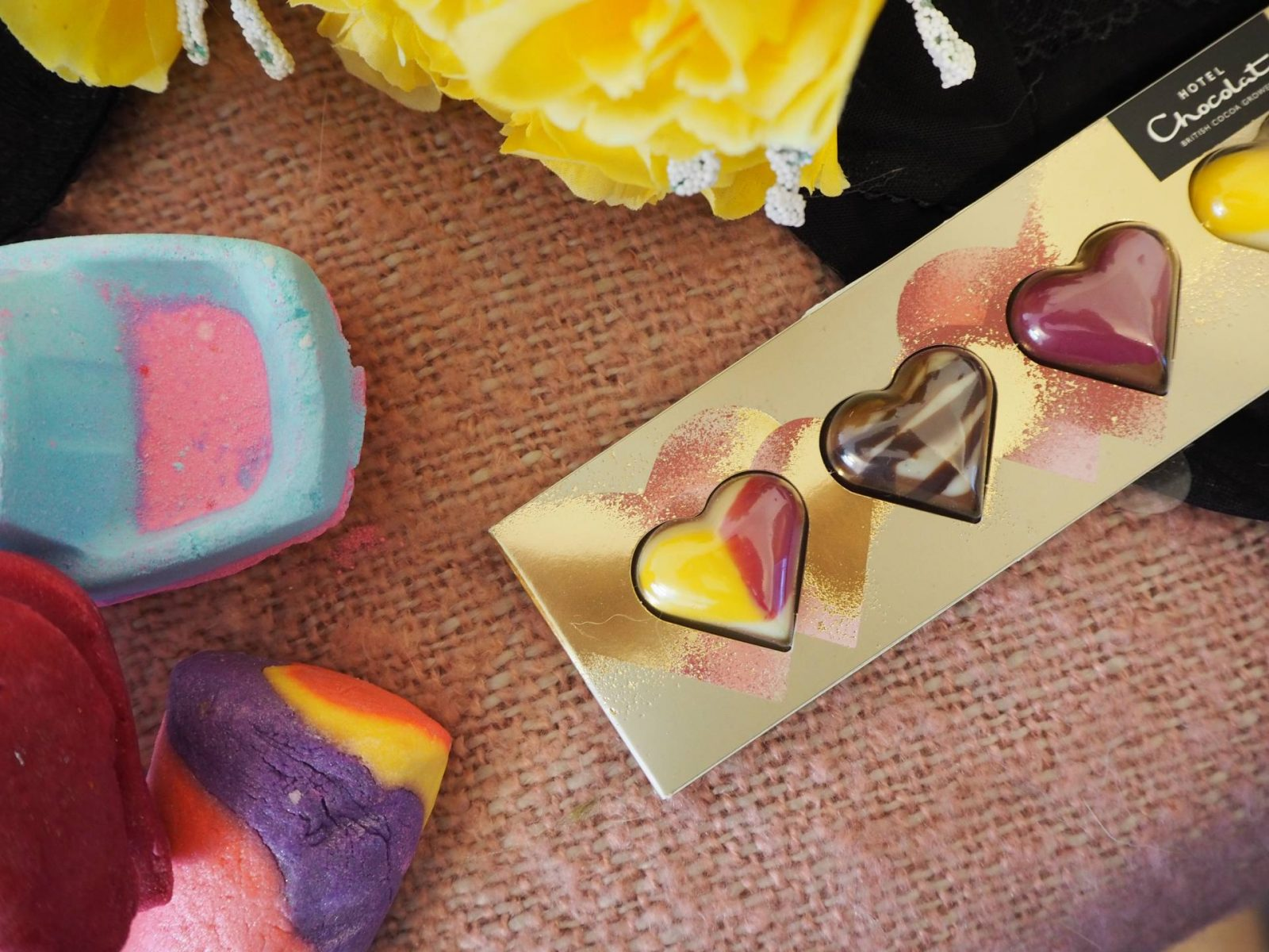 Lush and Hotel Chocolat Valentines 2018 collections