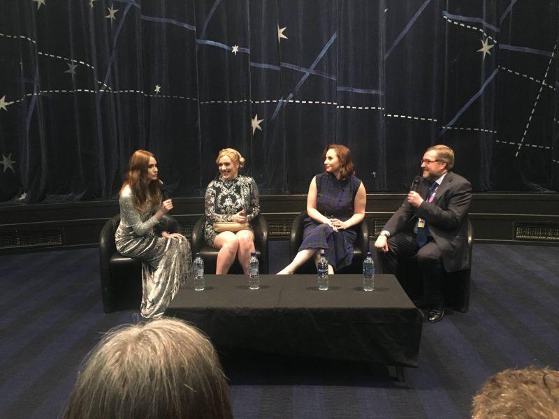 The Party's Just Beginning post-premiere Q&A with Karen Gillan, Rachel Jackson, Mali Elfman and Glasgow Film Festival staff