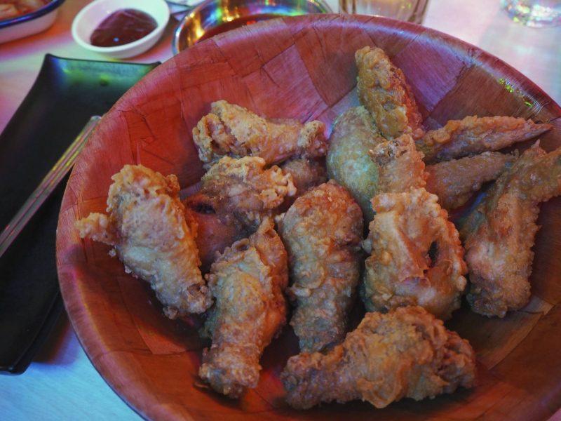 Bibimbap Glasgow Korean restaurant review - Korean fried chicken