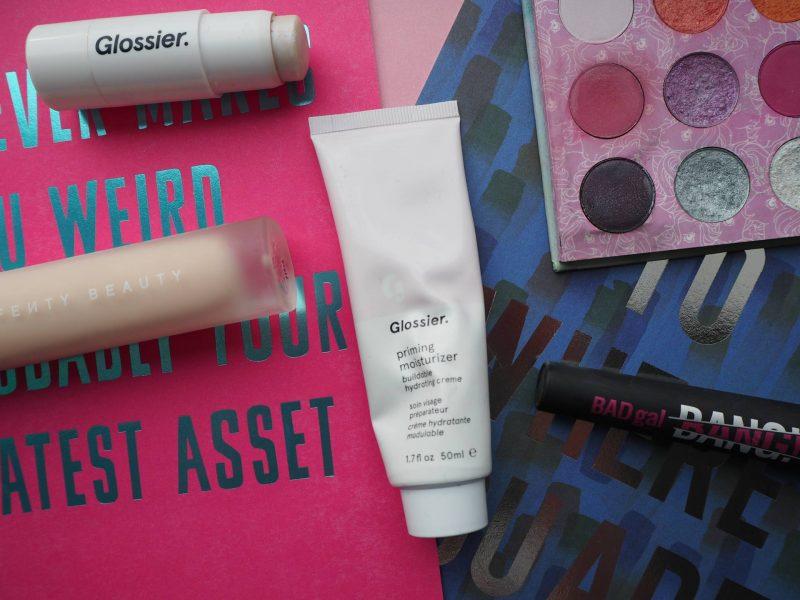 Beauty loves: Colorpop, Glossier, Fenty Beauty