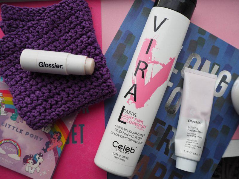 Beauty loves: Glossier, Celeb Luxury