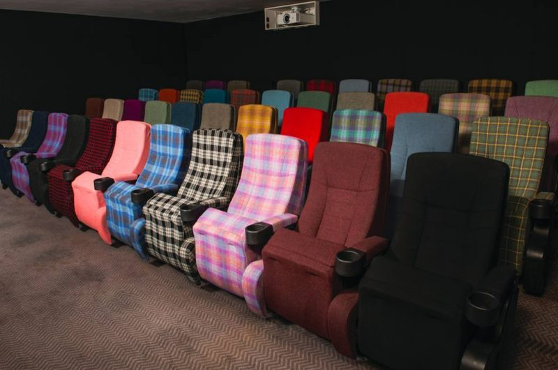 Blythswood Square Hotel private cinema screening room