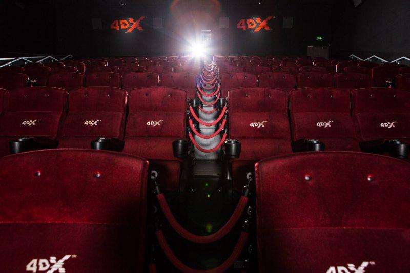 Cineworld 4DX seating