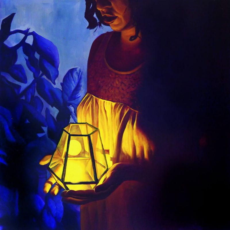 Young Night Thought - Moving Flame by Kirsty Whiten