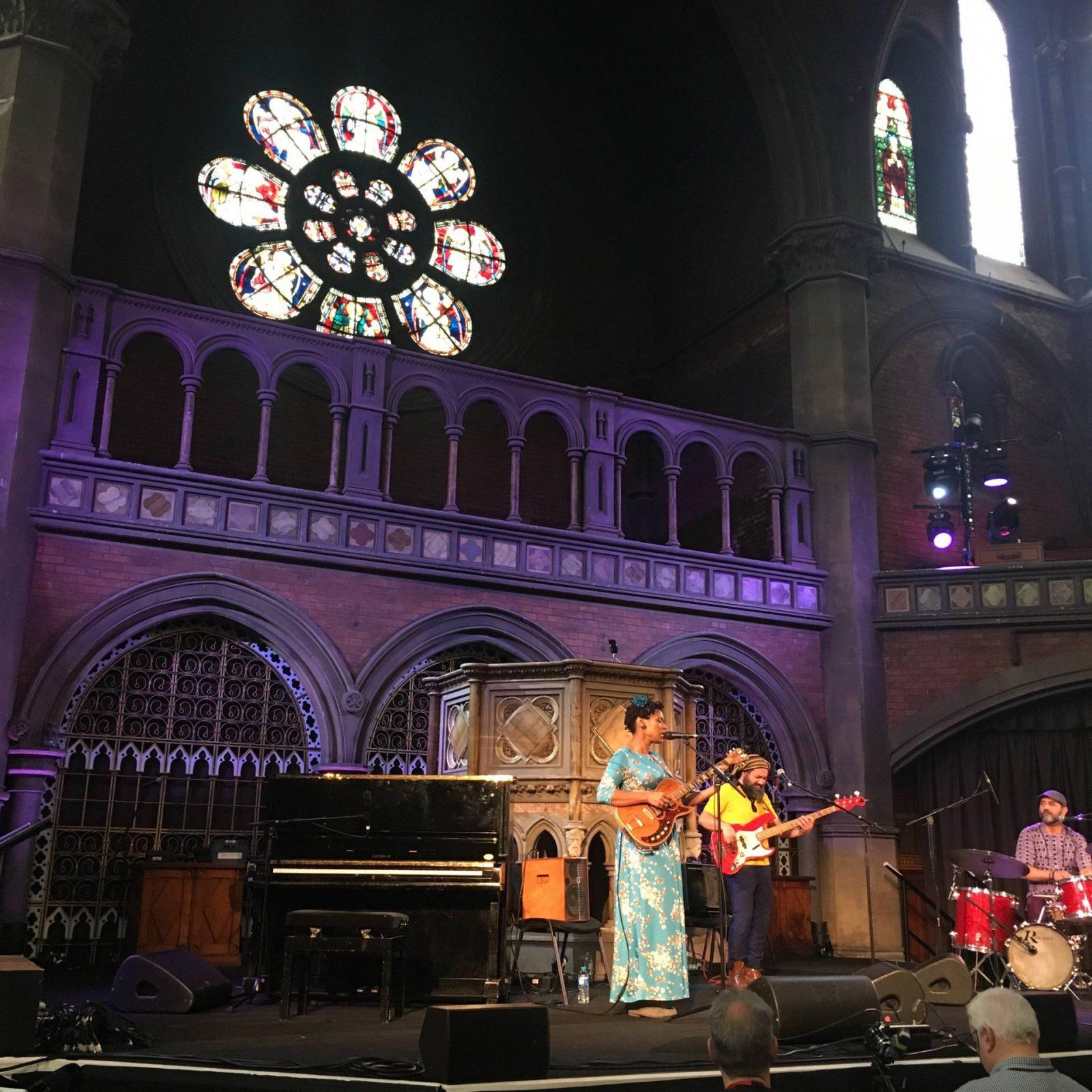 Carmen Souza @ Daylight Music, Union Chapel, London March 2018