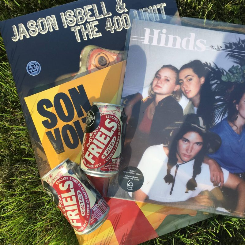 Record Store Day 2018 haul: Jason Isbell live EP, Son Volt red vinyl reissue, Hinds album and Friels Cider